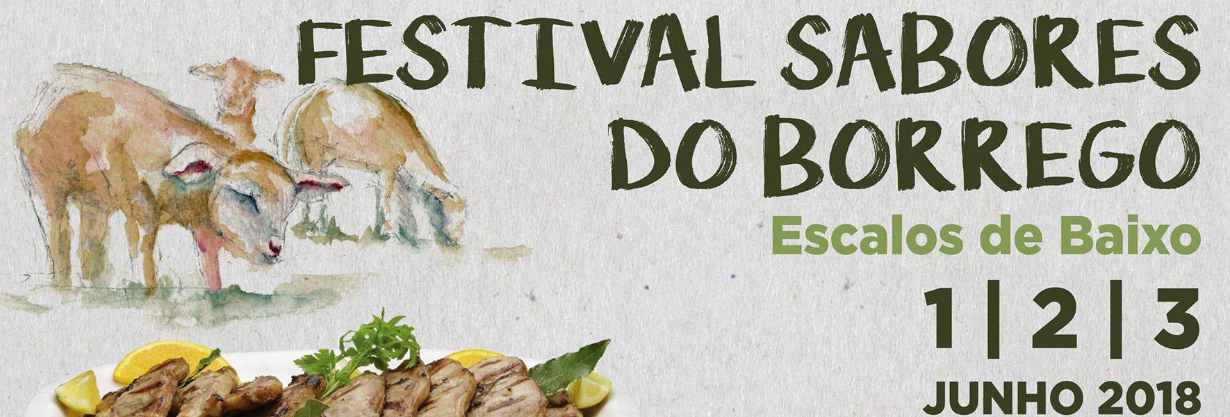 Festival Sabores Do Borrego 2018 – 1, 2 E 3 De Junho 2018